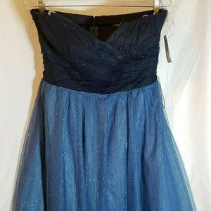 NEW Teeze Me Juniors Size 13 Strapless Dress